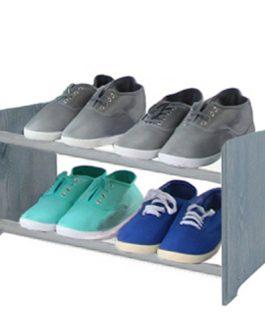 Spalvota medinė batų lentyna RBS